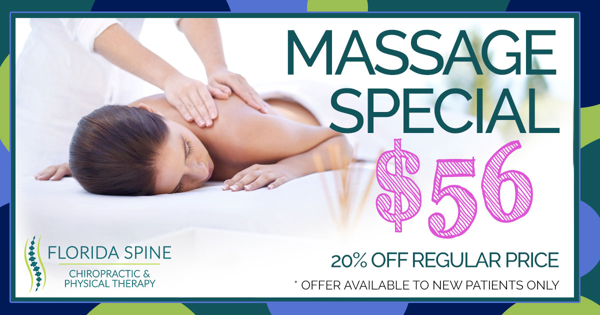 Woman get a massage ad for $56.