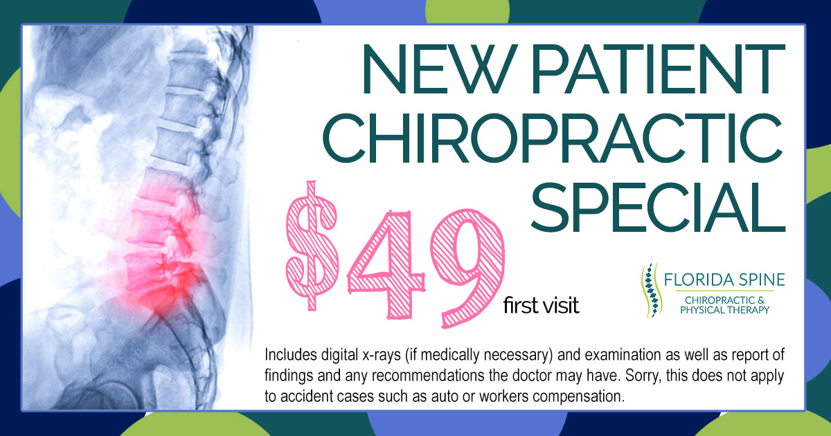 Special $49 first chiropractic visit