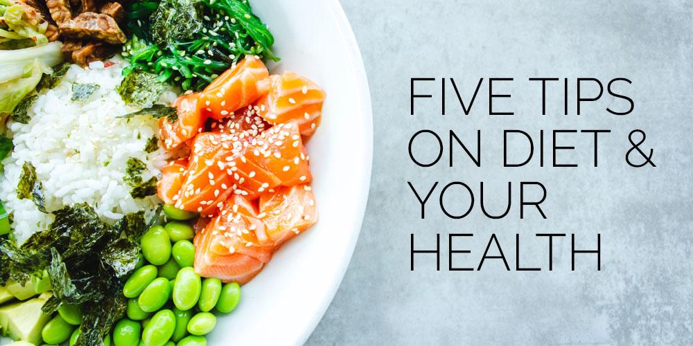 5 diet tips